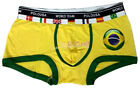 Mens Boxer Shorts Brief Undewear Brasil BR World Cup Football Soccer 1-12 pc Lot