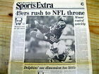 <1985 newspaper SAN FRANCISCO 49ERS WIN SUPER BOWL def Miami Dolphins J MONTANA on eBay