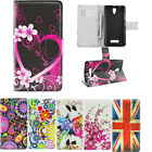 Flip Magnet Stand PU Leather Card Wallet Phone Case Cover For Lenovo Smart Phone