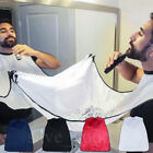 Beard Apron Shave Cape Bib Facial Hair Whisker Gather Trimming Catcher 120X80CM