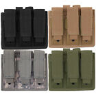 Every Day Carry Tactical MOLLE Triple Pistol Magazine Pouch