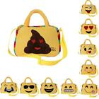 Kids Emoji Face Backpack Purse Girl Boy School Shoulder Bag Crossbody TXCL