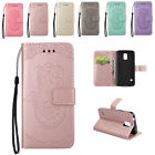 New PU Leather Wallet Case with Flip Stand Embossing Cover for Samsung Galaxy S5