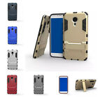 Slim Armor Hybrid Kickstand Shockproof Hard Back Case Cover For Meizu MX 5