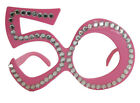 Shaped Number Numeric Party Glasses Birthday 50th 50 Fifty Decoration