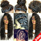 8A Pre Plucked Indian Remy Human Hair 360 Lace Frontal Wig Silk Top Full Lace X1