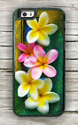HAWAIIAN PLUMERIA FLOWERS CASE FOR iPHONE 7 OR 7 PLUS -ghr4Z