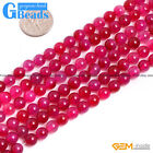"""6mm Plum Agate Gemstone Round Loose Beads For Jewelry Making Free Shipping 15"""""""