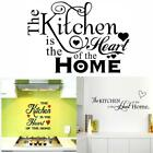 Kitchen Heart Of The Home Love Living Room Decor Wall Stickers Wallpaper