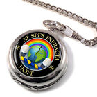 Hope Scottish Clan Pocket Watch
