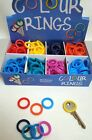 5 Colour Code YALE KEY Key TOP COVERS Caps/Tags/ID Markers RING SHAPE