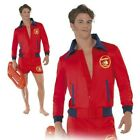 Baywatch Lifeguard Sea Adult Mens Film TV Fancy Dress Costume Outfit