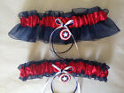 Captain America Wedding Keepsake Garter or Set - Plus Size Also