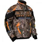 Castle X Youth Bolt G3 Realtree Orange Insulated Snowmobile Jacket 72-452X