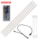 2M/3M USB LED RGB Multi Color Strip Light Lamp Kit TV Backlight 44-Key Remote