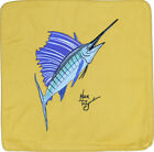 Embroidered Cushion Pillow Cover Marine Art Throw Pillow Sailfish