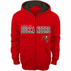 Tampa Bay Buccaneers Outerstuff Juvenile Fan Gear Stated Fz Hood Sweatshirts
