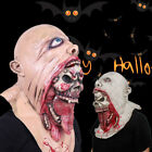 Bloody Zombie Mask Melting Face Costume Walking Cool Cospaly Halloween Party