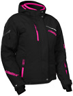 Castle X Womens Powder Jacket Black/Process Magnenta sizes S- 2XL  NEW!