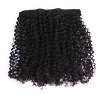 "USA STOCK Virgin Remy Brazilian Afro Curly Clip in Extension 12""-20"" Unprocessed"