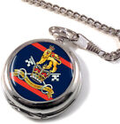 Military Provost Guard Service Full Hunter Pocket Watch (Optional Engraving)