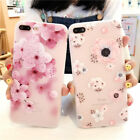 3D Blume Schutz Hülle Handy Cover Case Tasche Silikon  iPhone 7 7Plus 6 6S