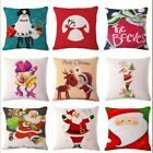 NEW Christmas Cushion Cover Ambience Square Pillow Case Sofa Home Christmas Gift