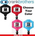 Внешний вид - Crank Brothers Candy 1 Clipless Bike XC Trail Pedals & Cleats Bros Choose Color