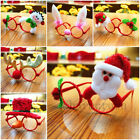 Funy Christmas Ornaments Glasses Frames Decor Evening Party Toy kids Rabbit Gift
