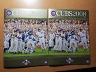 U PICK - 2008 NLDS Official Program Chicago Cubs / Los Angeles Dodgers