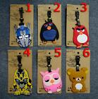 1P Cartoon Animal Silicone Travel Luggage Tags Baggage Suitcase Bag Labels Cute