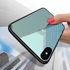For iPhone X 8 7 6s Plus Case Luxury Clear Slim Shockproof Soft TPU Bumper Cover
