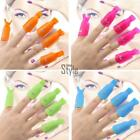 NEW 10 PCS Plastic Nail Art Soak Off Cap Clip UV Gel Polish Remover Wrap Tool NU
