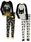 Batman Boys L/S 2pc Snug Fit Pajama Pant Set Size 4 6 8 10