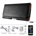 Heavy Duty Pouch Case for iPhone 6S, 7, 8 Plus Leather With
