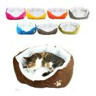 2017 S M Size Pet Dog Cat Soft Fleece Warm Cotton Bed House Cozy Mat Pad Nest