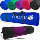 Colomax Extra Leichte Yogamatte Gymnastikmatte Turnmatte Bodenmatte Fitness
