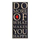 Sauberlaufmatte Be Happy beiges - rotes Herz in 150 x 67 cm
