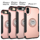 For iPhone X 6 6S 7 8 iPhone8 Plus Shockproof Hybrid Hard Protective Case Cover
