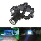 5500LM LED Zoomable Headlight T6 COB 4 Modes+2xBatteries Rechargeable Headlamp