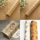 10 PCS Retro Wrapping Paper Wrap Gift Wrap Double Sided Newspaper Kraft Paper