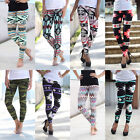 Women Ladies Stretchy Leggings Casual Skinny Leggings Slim Pencil Pants Trousers
