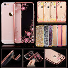 4 Colors / Bling Silicone Glitter ShockProof Case Cover For Apple iPhone X 6s 7