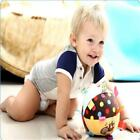 Baby Comforting Toys Soft Animal Ball Baby Toy Ring Bell Baby Plush Rattle W