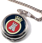 HMS Newcastle Full Hunter Pocket Watch
