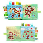 1X Intelligence Development Cloth Bed Cognize Book Educational Toys for Kid Baby