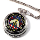 Congilton Scottish Clan Pocket Watch