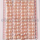 Natural 7-8mm Button Shape Half Drilled Genuine Pearl Beads 24 Pairs For Earring