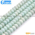 Natural Amazonite Stone Rondelle Spacer Beads For Jewelry Making Free Shipping