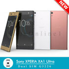 "Sony XPERIA XA1 Ultra G3223 (FACTORY UNLOCKED) 6.0"" 32GB White Black Gold"